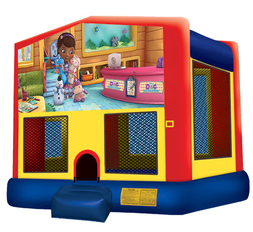 Doc McStuffins Bouncer from Awesome bounce of Michigan