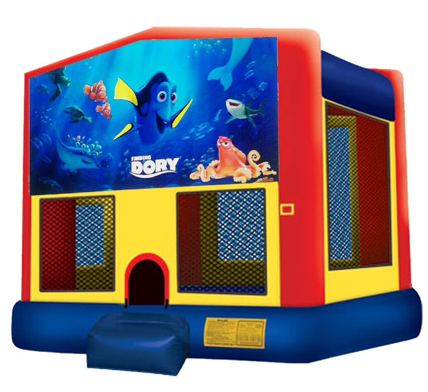 Finding Dory Bouncer from Awesome bounce of Michigan