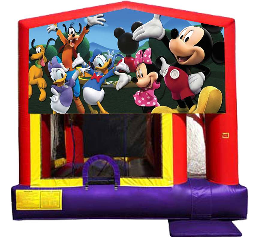 Mickey Mouse Combo 4-in-1 from Awesome bounce of Michigan