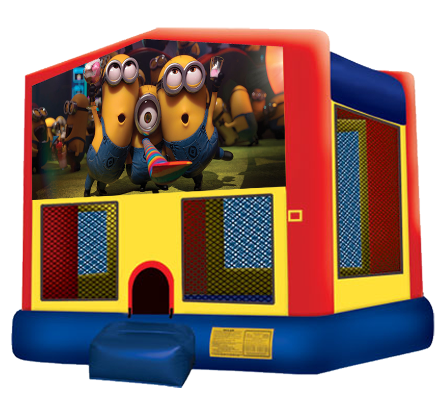 Minions Bouncer from Awesome bounce of Michigan