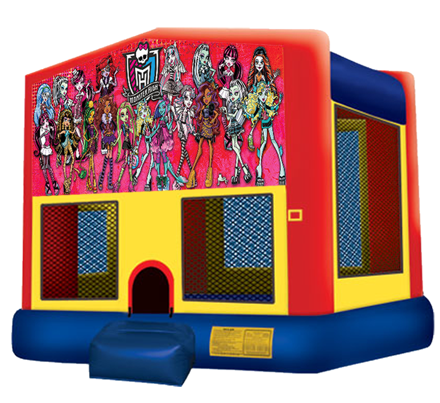 Monster High Bouncer from Awesome bounce of Michigan