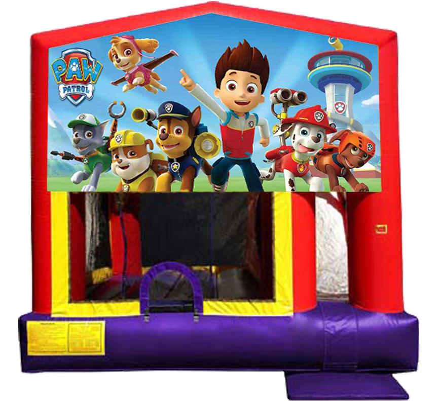 Paw Patrol Combo 4-in-1 from Awesome bounce of Michigan