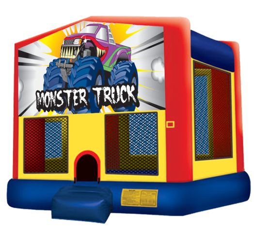 Monster Truck Bouncer New for 2021