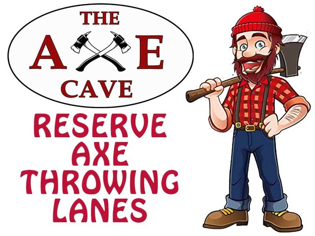 Reserved Axe Throwing