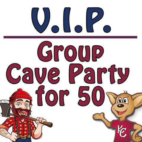 VIP Group Cave Party (50P)
