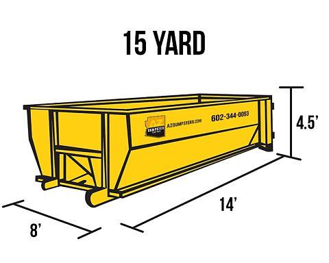 rent a Roll off dumpster Goodyear az