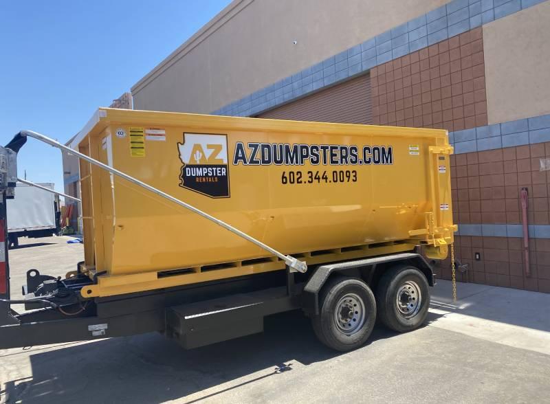 residential dumpster rental Goodyear az