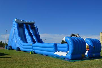 inflatable slides rentals