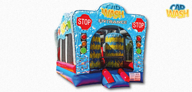 Car Wash Water Bounce House