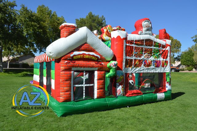 Christmas Wonderland Bounce House