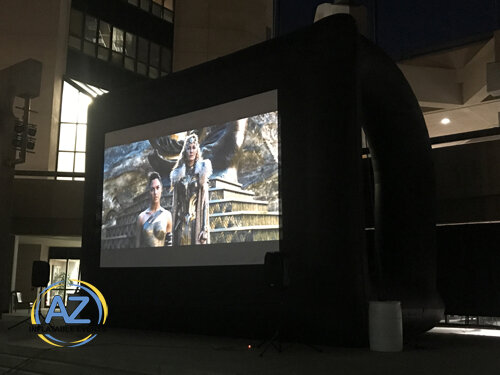 Movie Screen Extra Large 20x12