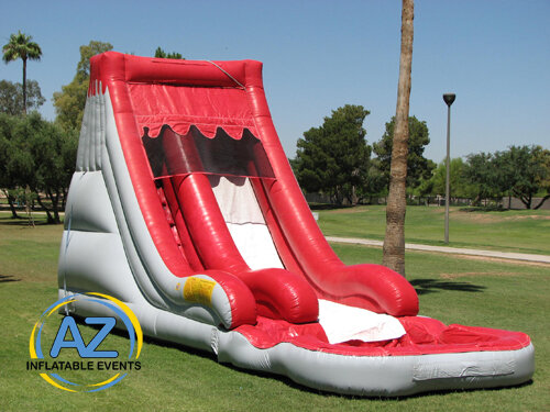 Volcano Water Slide 16ft Tall