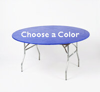 60 inch Round Table Kwik Cover