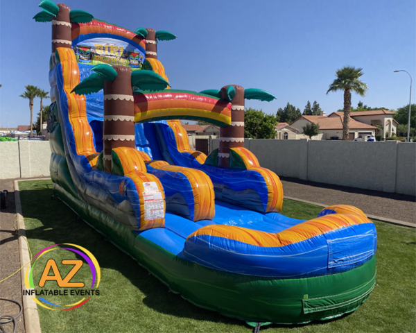 Tiki Plunge Water Slide 20ft Tall