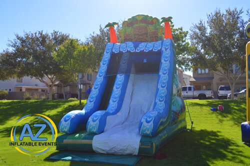 Tiki Slide 18ft Tall