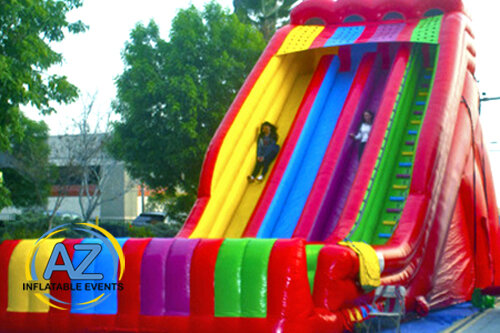 Triple Lindy Dry 28ft Tall Slide