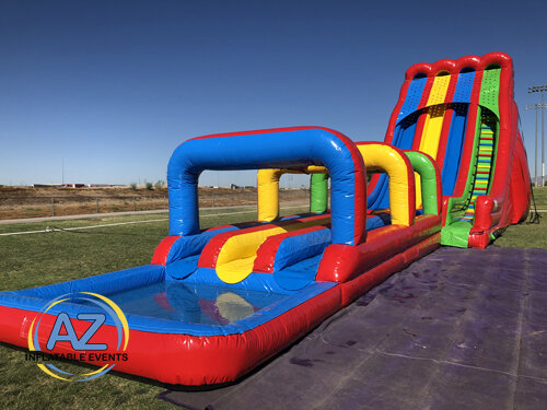 Triple Lindy Water Slide 28ft Tall