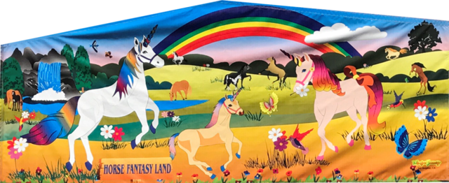 Unicorn and Horse Fun Banner