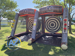 Axe Throwing Challenge Double Lane