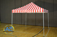Carnival Tent Red White 10x10