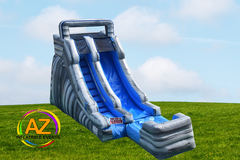 Gray Marble Water Slide 15ft Tall