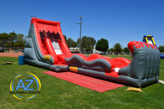 Volcano Water Slide with Slip n Slide 16ft Tall