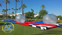 Zorb Balls and Criss Cross Course