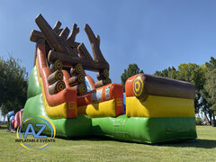 Log Jammer Water Slide 24ft Tall