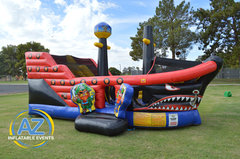 Pirate Ship Bounce House Playland