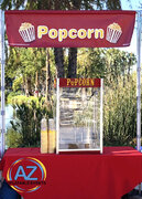 Full Service Popcorn Booth