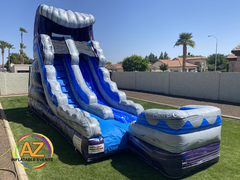 Purple Splash Water Slide