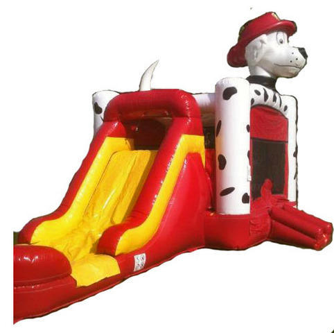 Dog Bounce House/Slide Combo
