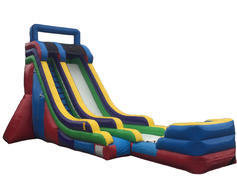"<span style=""color:#0000ff;""><strong>22FT Single Lane Water Slide</strong></span><br /> <br />"