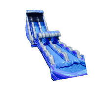 "<span style=""color:#0000ff;""><strong>22ft 2 Lane Tsunami  Water Slide with Slip-n-Slide</strong></span>"