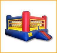 "<font color=""blue"">Boxing Ring Bounce House</font>"