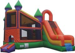 "<font color=""blue"">Castle Bounce House/Slide Combo</font>"