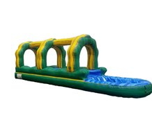 "<span style=""color:#0000ff;""><strong>Green Marble Single Lane Slip-N-Slide</strong></span>"