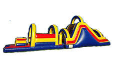 "<span style=""color:#0000ff;""><strong>48FT Multi Colored Obstacle Course</strong></span><br /> <br />"