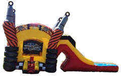 "<span style=""color:#0000ff;""><strong>Race Car Combo With Water Slide</strong></span><br /> <br />"