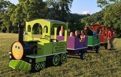 "<span style=""color:#0000ff;""><strong>Trackless Train</strong></span>"
