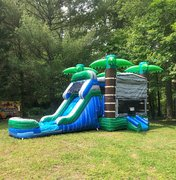 "<span style=""color:#0000ff;""><strong>3D Tropical Combo With Water Slide</strong></span><br /> <br />"