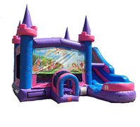 "<span style=""color:#0000ff;""><strong>Unicorn Bounce House / Water Slide Combo</strong></span>"