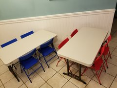 2 KIDS Tables & 8 KIDS Chairs