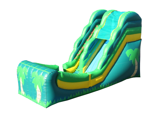 16 foot Tropical Wet or Dry Slide