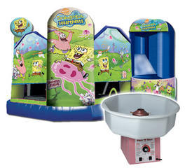 Sponge Bob 5 in 1 Fun Pack 2 Cotton Candy