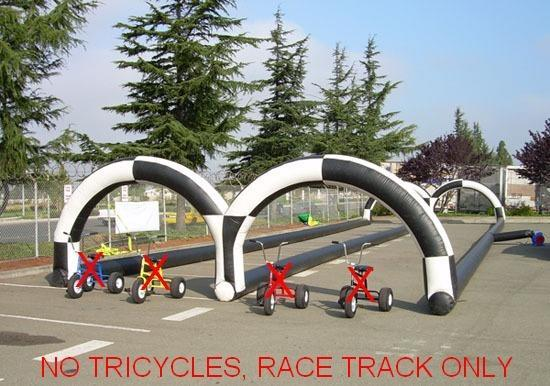 Drag Race Course (NO TRICYCLE)