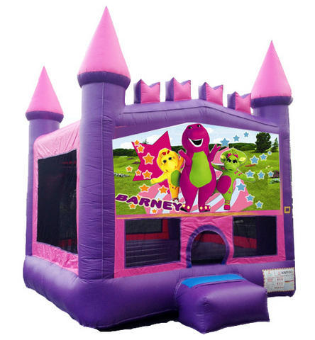 Marvelous Barney Pink Castle Mod Rentals Bayareajump Com San Jose Ca Download Free Architecture Designs Meptaeticmadebymaigaardcom