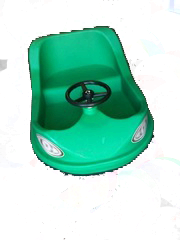 Self Propelled Car Green