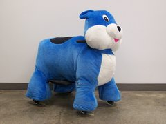 Jungle Blue Bear Motorized