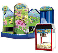 Sponge Bob 5 in 1 Fun Pack 3 Popcorn